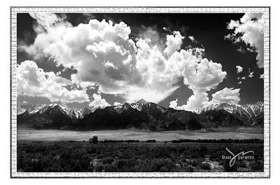 """""""Cloudburst,"""" Eastern Sierras, Lone Pine, CA"""