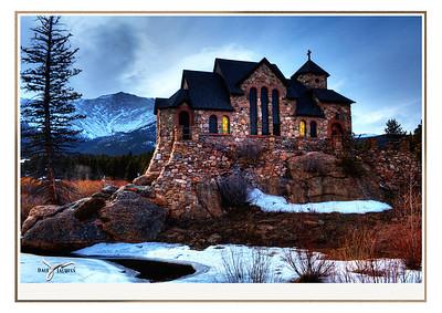 """""""Two Cathedrals,"""" Colorado"""