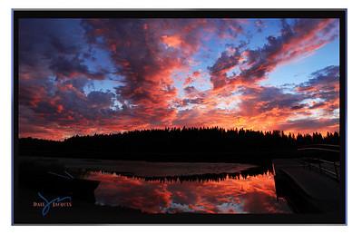 """""""Glory"""" Shepherd Lake, Idaho"""