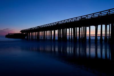 Seacliff State Beach - ship, California