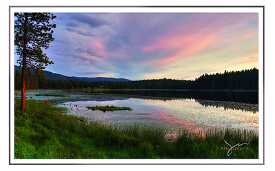 Evening Pastels,   Shepherd Lake, Idaho