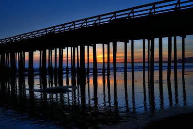 Seacliff State Beach - Pier, California