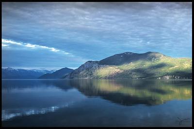 Reflection,  Lake Pend Oreille, Idaho